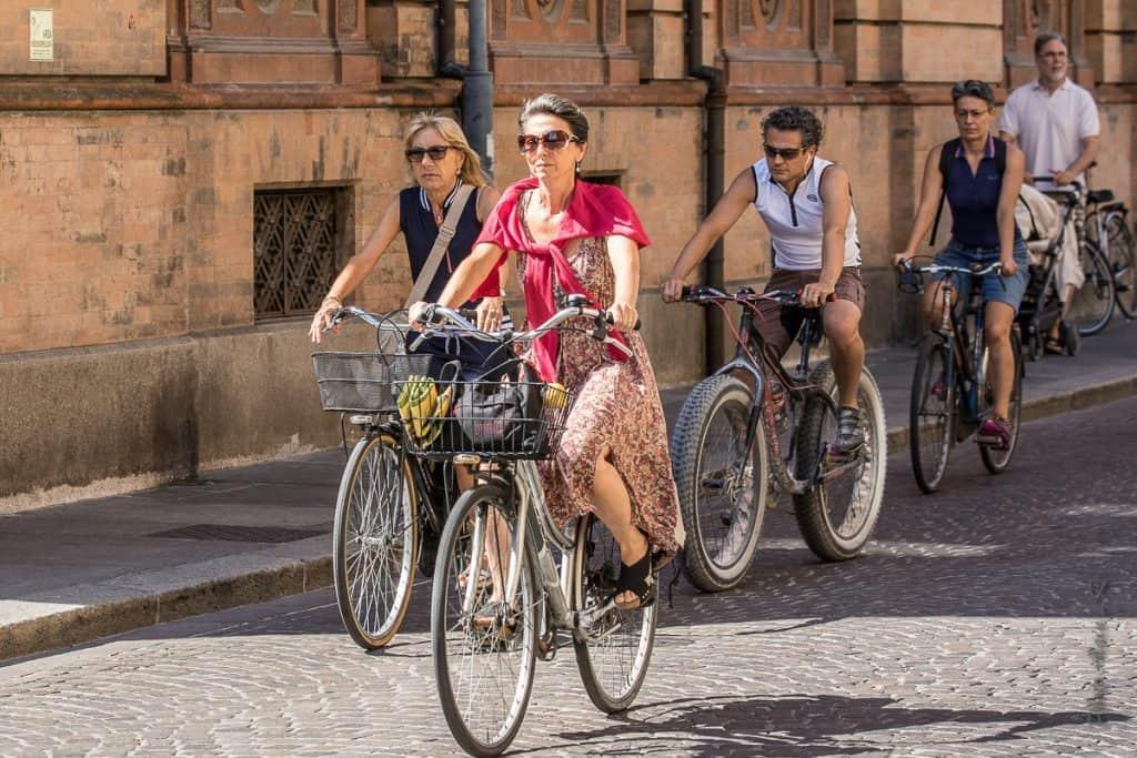 Le vélo dans les villes italiennes