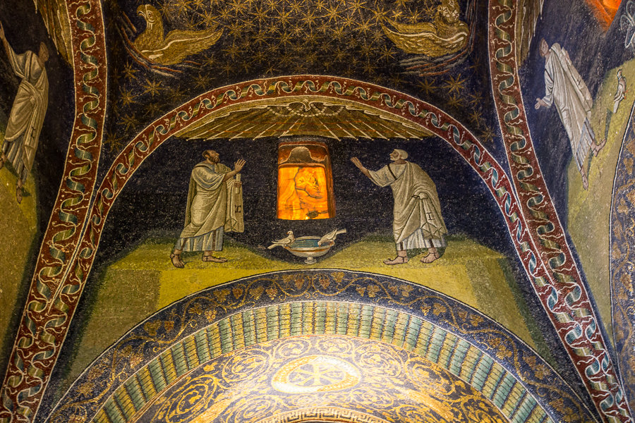 Mosaïque Saint Pierre et Saint Paul du Mausolée de Galla Placidia