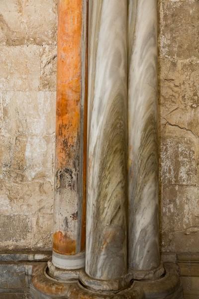 décoration : colonne de marbre